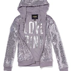 pink victoria's secret • signature zip hoodie Faux fur signature zip hoodie. Gorgeous! New without tags. I changed my mind so it's time to find a new home! PINK Victoria's Secret Tops Sweatshirts & Hoodies