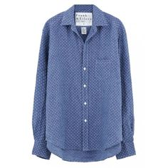 (9) Polka dot blouse  .POLYVORE   Pinterest ❤ liked on Polyvore featuring tops, blouses, blue top, polka dot blouse, blue blouse, polka dot top and blue polka dot top