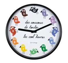 Horloge LUNA Cool - multicolore