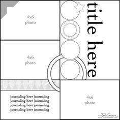 3 photos, 1 page, 0+3