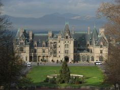 Biltmore House is a Châteauesque-styled mansion in Asheville, North Carolina, built by George Washington Vanderbilt II between 1889 and 1895. It is the largest privately-owned home in the United States, at 175,000 square feet and featuring 250 rooms.