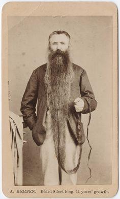Beard 8 feet long