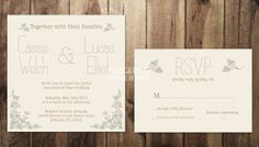 Hey, I found this really awesome Etsy listing at http://www.etsy.com/listing/157764775/printable-custom-vintage-wedding