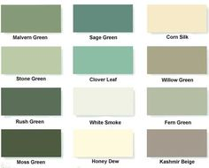 Painted Finishes for the Cottage Range Summerhousesmalvern Horton summer house painted in Malvern green ans corn silk.