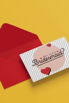 will you be Templates Online Templates, Design Templates, Bridesmaid Cards, Bridesmaids, Invite, Invitations, Will You Be My Bridesmaid, Custom Cards, Free Prints