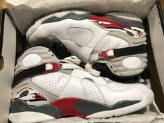 separation shoes 0bf0e af165 Nike Men s Air Jordan 8 Retro Bugs Bunny White SNEAKERS Size 11.5   305381-108
