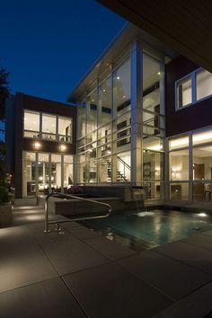 Awesome Architecture » Cortland Residence in Chicago by Nicholas Clark Architects