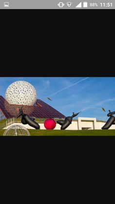Le Futuroscope et ses statuettes