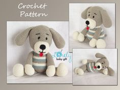 This Listing is for the PDF crochet PATTERN and NOT the actual toy.  This pattern is available in English and Danish language. Please include Your language preference in Your order (otherwise pattern