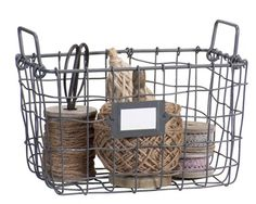 <3 Craft Packaging, Wooden Crates, Wire Baskets, Storage Boxes, Homemaking, Twine, Home And Living, Sweet Home, Metallica