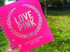 Love pink planner