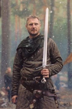 "Inspiration for one of those older warriors that are weary.  Plus.. give you an idea of ""average"" armor and weapons."