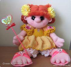 Изумительные игрушки спицами от Ольги Александровны