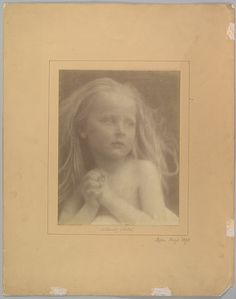 A Lovely Sketch Julia Margaret Cameron (British (born India), Calcutta Kalutara, Ceylon) Date: 1873 History Of Photography, Modern Photography, Vintage Wall Art, Vintage Walls, Julia Margaret Cameron, Alternative Photography, Historical Maps, Portraits, Art History