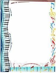 free music borders clip art grunge music frame by x nerd on rh pinterest com Music Clip Art music clipart borders free