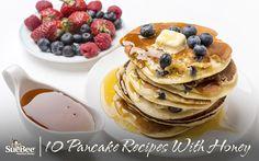 10 Pancake Recipes With Honey