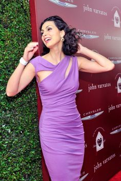 Actress Morena Baccarin arrives at the John Varvatos 11th Annual Stuart House Benefit presented by Chrysler Kids Tent by by Hasbro at John Varvatos...