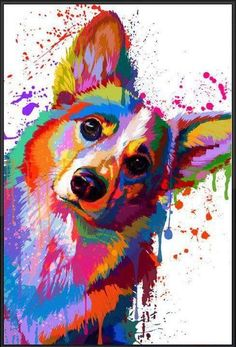 Colorfully Corgi Colorfully Corgi Source by meliroa The post Colorfully Corgi appeared first on Bates Dog Hotel. Cute Corgi, Corgi Dog, Pet Dogs, Dog Tattoos, Animal Tattoos, Colorful Animals, Cute Animals, Animals Watercolor, Corgi Drawing