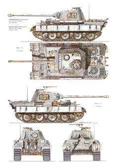 Panther Ausf. A, 5th SS Panzer Division, February 1944
