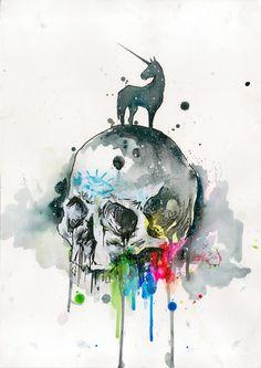 Skull Unicorn