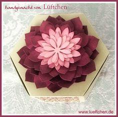Lüftchen Stempelstudio Bergedorf, Sukkulenten, succulents, stampin up,Hexagon box, Fensterbox