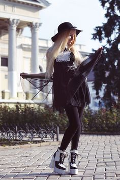 Kristina Dolinskaya - Jeffrey Campbell Boots - Call it magic