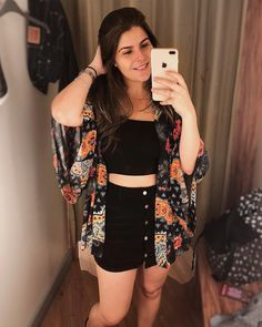 Top Faixa: 14 looks para você se inspirar Basic Outfits, Skirt Outfits, Casual Outfits, Cute Outfits, Fashion Outfits, Summer Outfits For Teens, Spring Outfits, Donia, Tumblr Outfits