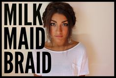 HOW TO: Milkmaid Braid | Andrea Russett