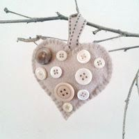 Craft Fairy Designs: Hearts for Christmas in Shabby Colours