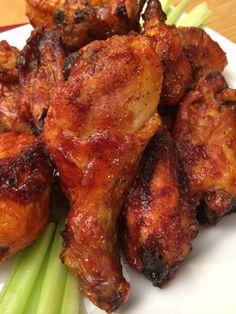 Honey Barbeque Chicken, Honey Baked Chicken, Honey Bbq, Garlic Chicken, Recipes With Chicken And Peppers, Chicken Recipes Video, Drumstick Recipes Oven, Wing Recipes, Chicken Seasoning