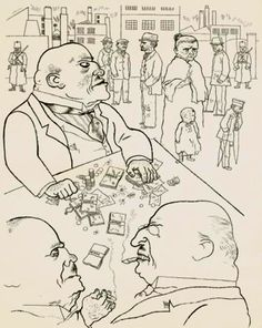 George Grosz.  Discover the coolest shows in New York at www.artexperience...