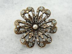 Hey, I found this really awesome Etsy listing at https://www.etsy.com/listing/167275945/antique-victorian-enamel-knot-flower