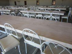 White wash tafels