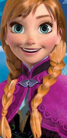 The Disnerd, ▣ Frozen (2013) fully rendered characters - Anna and Elsa