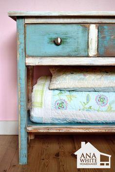 DIY patchwork furniture