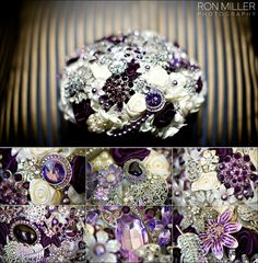 Stunning brooch bouquet. This is a show stopper!