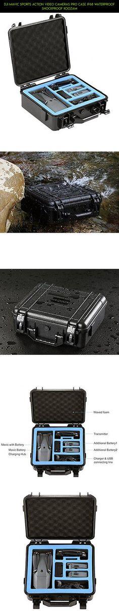 DJI Mavic Sports Action Video Cameras Pro Case IP68 Waterproof Shockproof Koozam #parts #koozam #drone #racing #technology #plans #fpv #pro #products #shopping #mavic #tech #gadgets #kit #camera