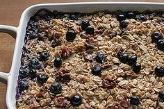 Baked Oatmeal - Featured