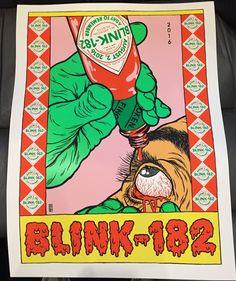 Broken Fingerz blink 182 Atlanta Poster