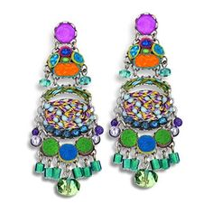 Ayala Bar Monterey-Bay Earrings, Hip, Spring 2015 - E7368  Price : $175.00 http://www.artazia.com/Ayala-Bar-Monterey-Bay-Earrings-Spring/dp/B00U6CXW1Q