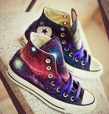 zapatillas vans mujer galaxia