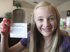 July 12 - Pay it forward for Abby day! There aren't many things in life that Abby Doman takes for granted, anymore. In the year that has passed since she underwent an emergency heart transplant, she has regained her past abilities, but hasn't forgotten how quickly they could disappear.
