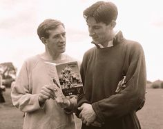 Danny Blanchflower and Bill Brown