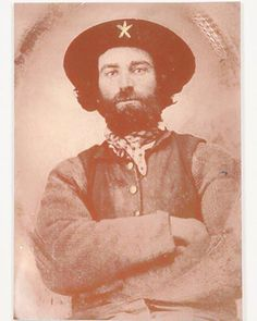 Jesse Rice, Co B, 8th Texas Cavalry.  Pretty much personifies Terry's Texas Rangers.