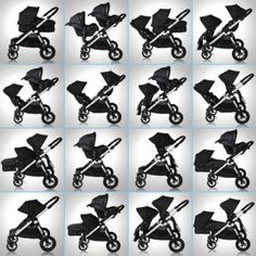 This is the stroller we're planning on getting! I can't wait! It can fit up to three children at the same time! Baby Jogger City Select