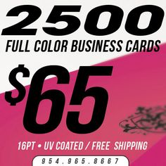 250 1 or 2 sided full color business cards 16pt stock mattedull 2500 business cards printing custom 16pt uv gloss ultra glossy full reheart Gallery