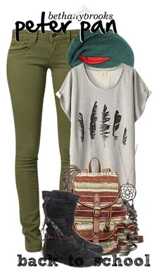 """""""☆*// peter pan // back to school --bethany"""" by bethanybrooks ❤ liked on Polyvore"""