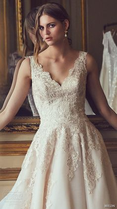 bhldn spring 2016 sleeveless v neck lace strap embellished bodice v back sweep train beautiful a line ball gown wedding dress (mckinley)
