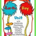 Have fun learning about the environment and Earth Day with The Lorax!  This 84 page unit is packed with great graphic organizers, writing activitie...