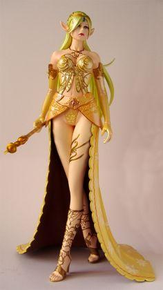 Gold elf princess